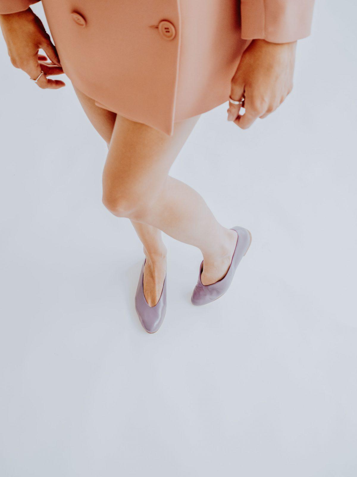 Bailarina Piel Violeta