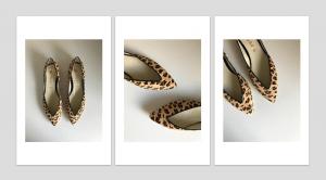 Bailarina Animal Print Leopardo