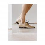 Zapato Oxford Dorado