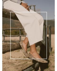 Bailarinas Pelo Animal pint Leopardo