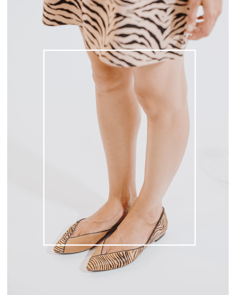 Bailarinas Tigre Camel Animal Print