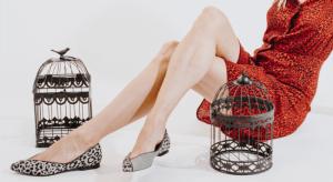 Bailarina Piel Animal Print Leopardo Gris