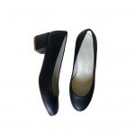 Tacon 4cm Negro Mujer Piel