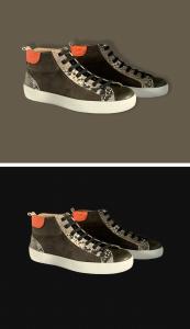 Sneakers Bota Serpiente Piel 2