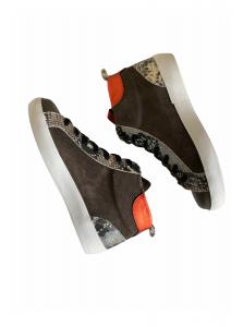 Sneakers Piel Serpiente Bota