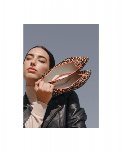 Bailarina Mujer Animal Print Leopardo