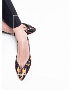Bailarina Piel Mujer Animal pRint Tigre