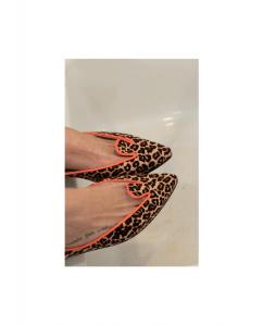 Bailarinas Animal Print Coral Leo