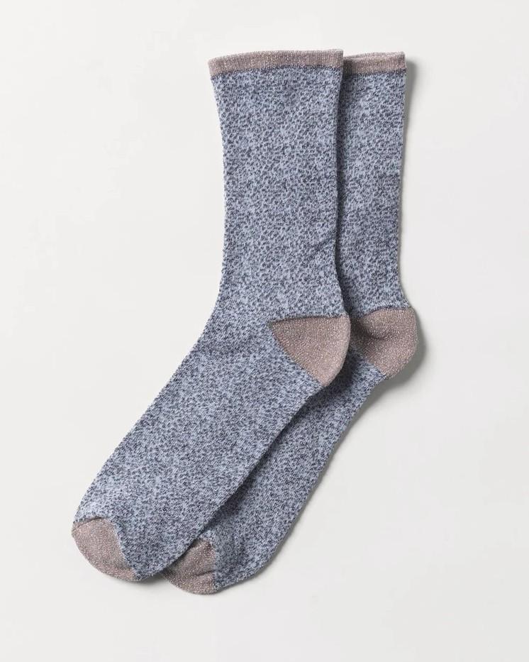 Calcetines Glitter Animal Grey