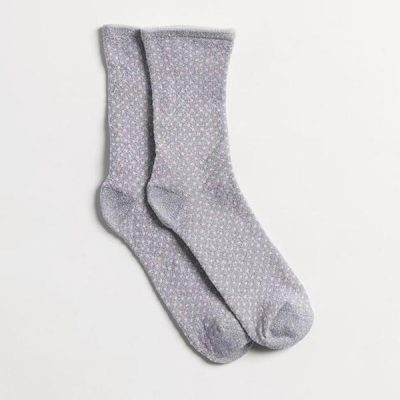 Calcetines Glitter Dots Grey