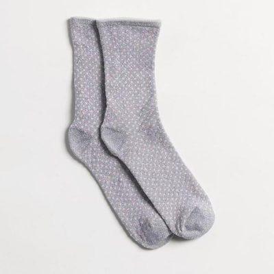 Calcetines Glitter Dots Grey