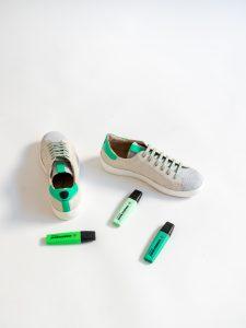 Sneakers Fluor Green