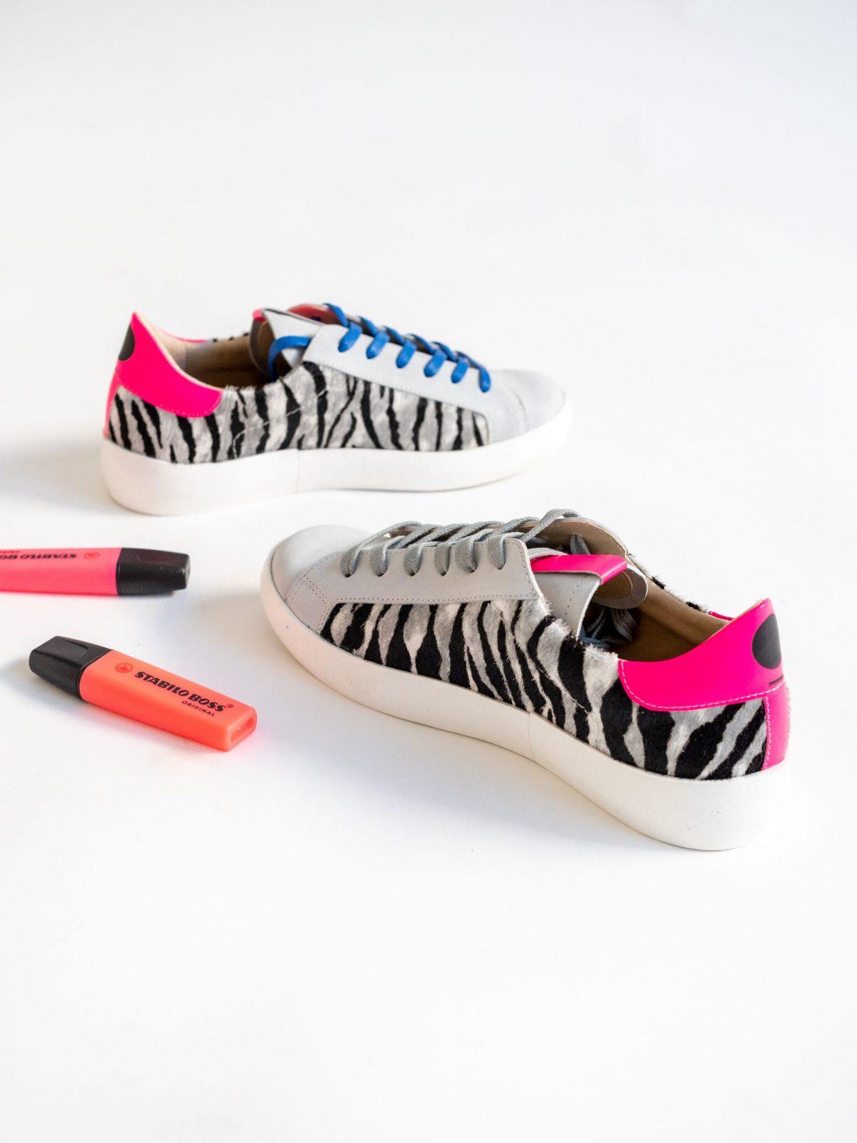 Sneakers Fluor Pink