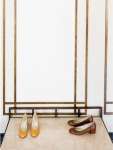 Zapato tacon medio color cuero señora piel2